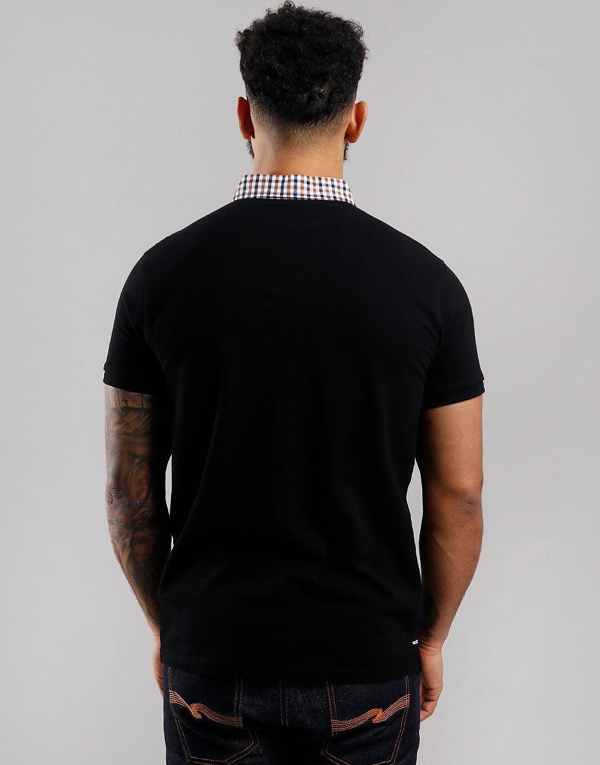 Weekend Offender Glacier Polo Shirt Black
