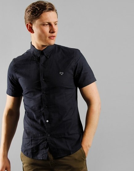 Weekend Offender Gomorrah Shirt Navy
