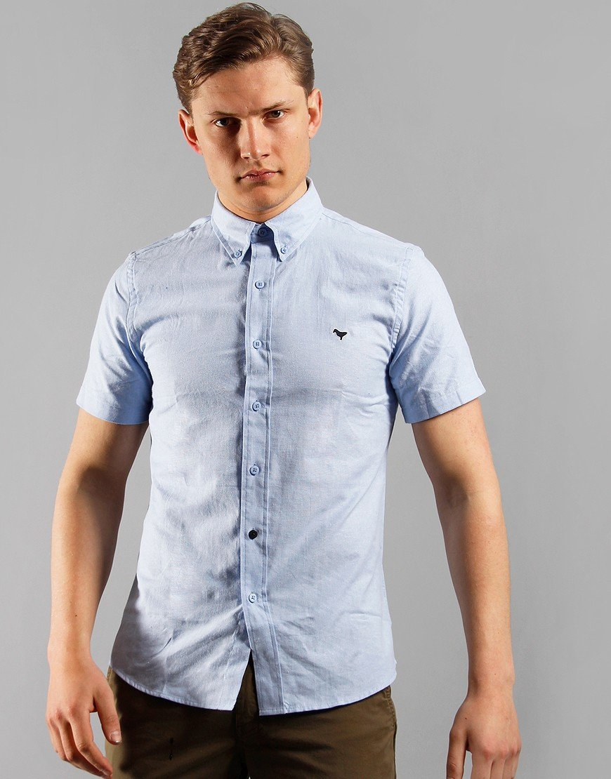 Weekend Offender Gomorrah Shirt Pale Blue