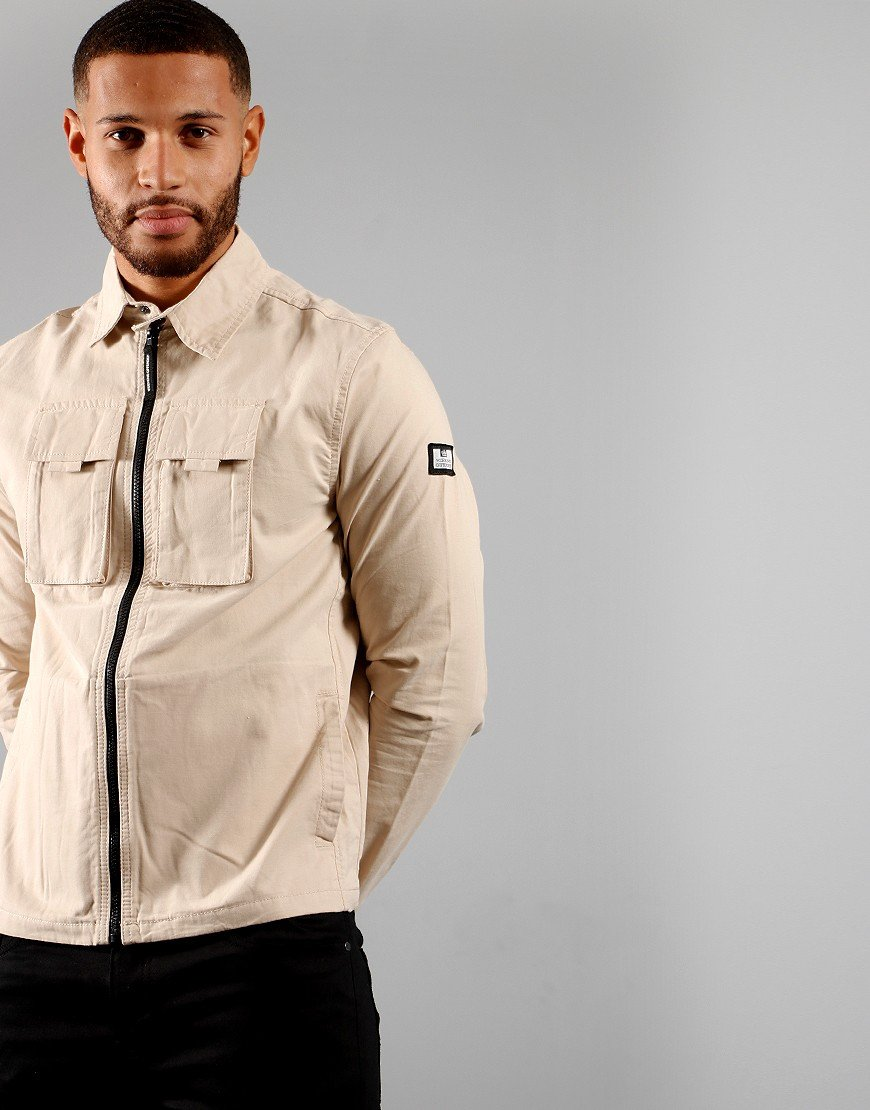 Weekend Offender Jack Overshirt Sand
