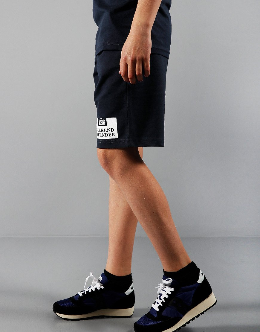 Weekend Offender Kids Action Sweat Shorts Navy