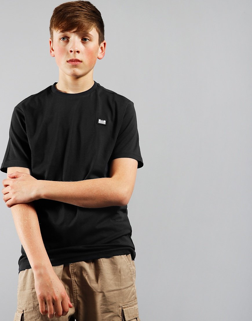 Weekend Offender Kids Badge T-shirt Black