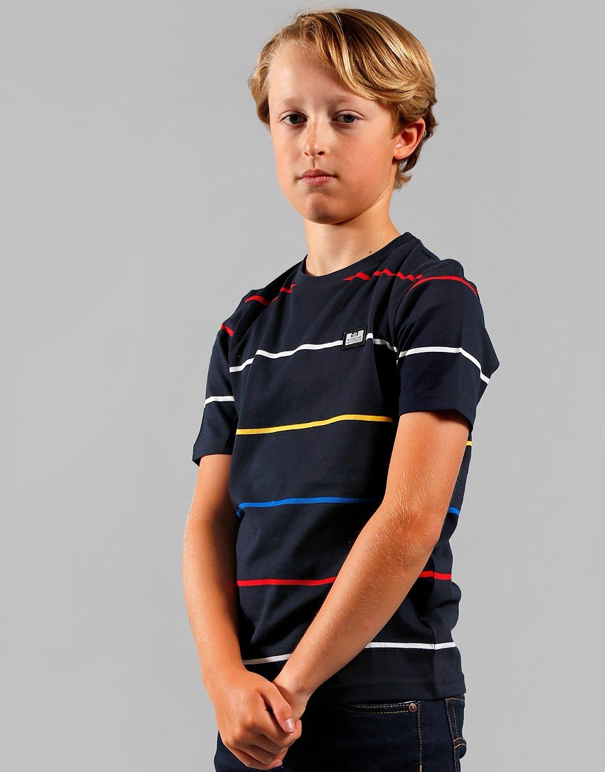 Weekend Offender Kids Finn T-Shirt Navy