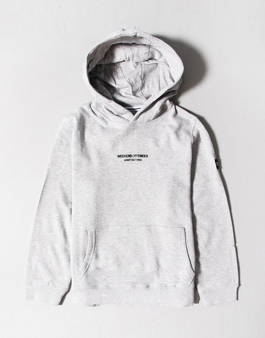 Weekend Offender Kids WO Hoody Grey
