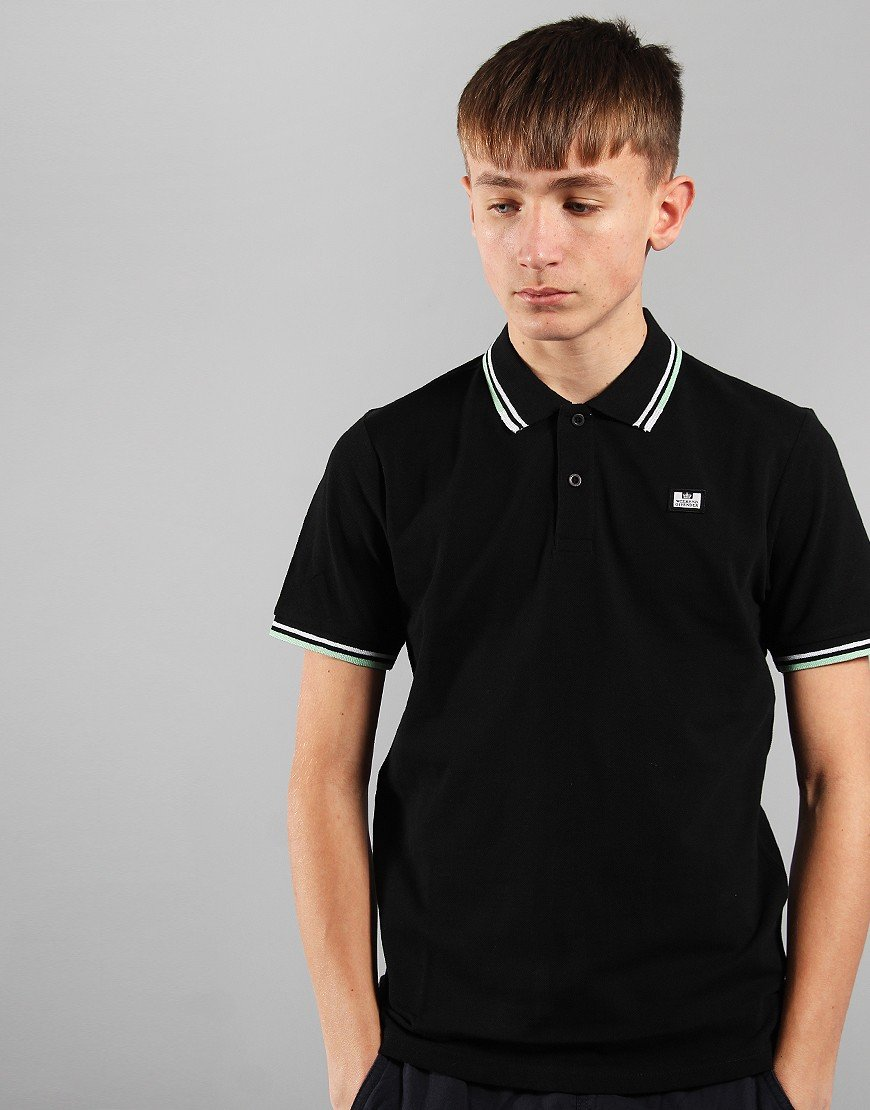 Weekend Offender Kids Polo Shirt Black