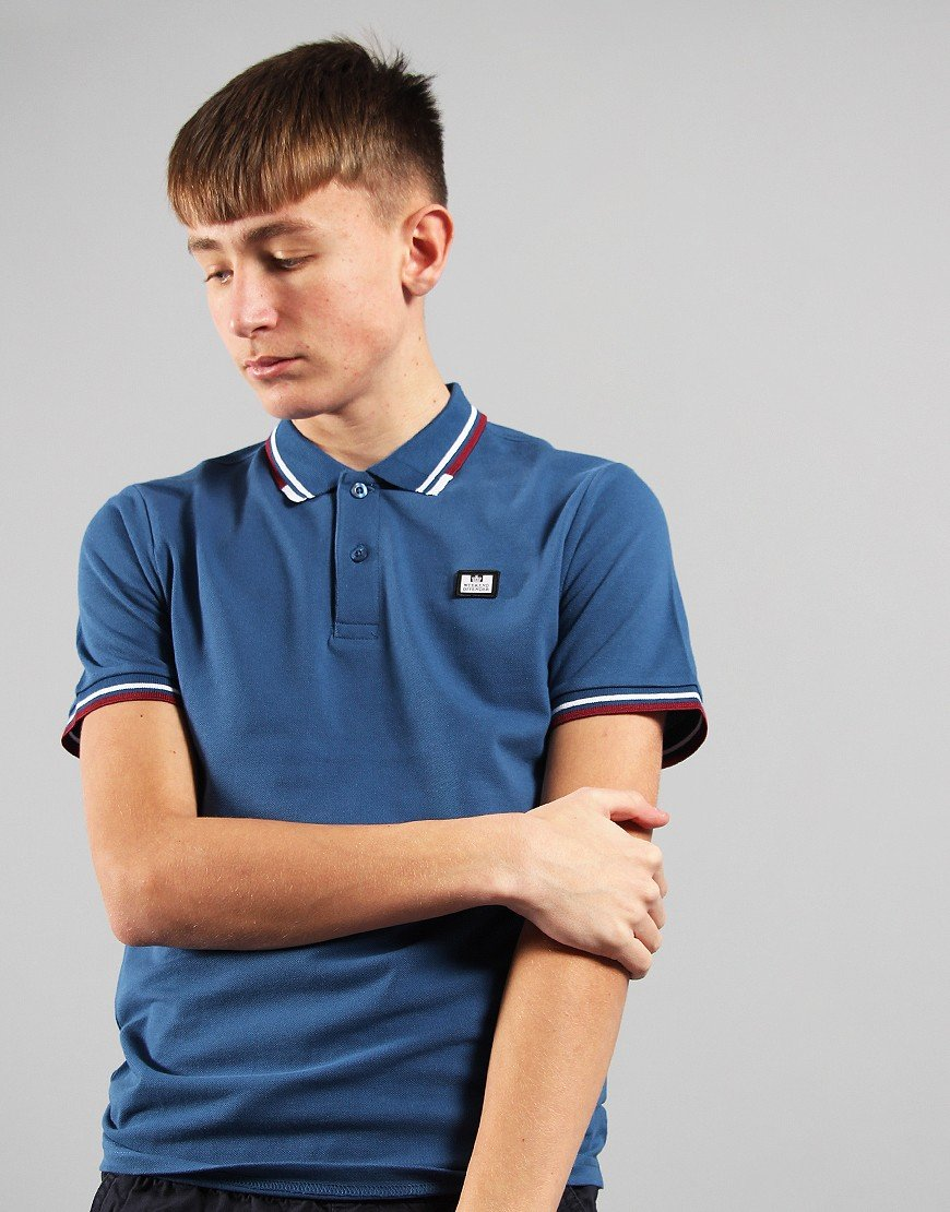 Weekend Offender Kids Polo Shirt Yale