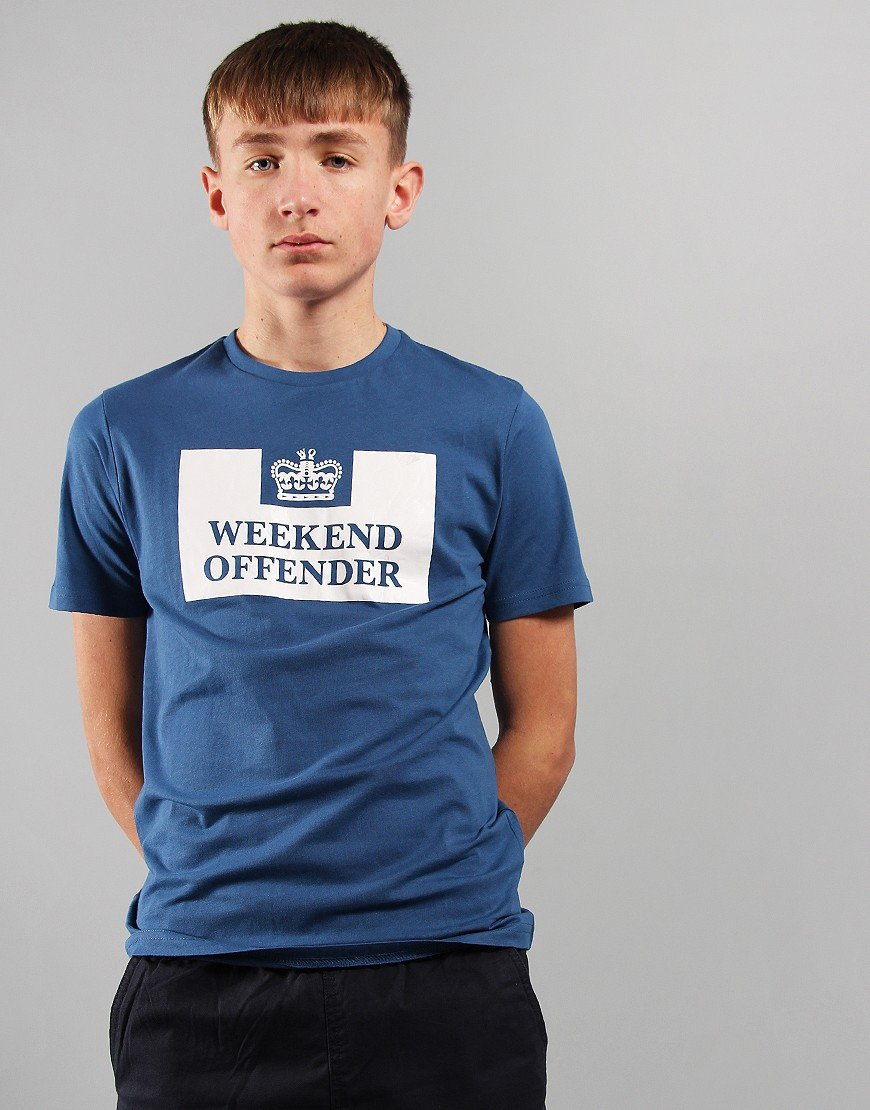Weekend Offender Kids Prison T-Shirt Yale