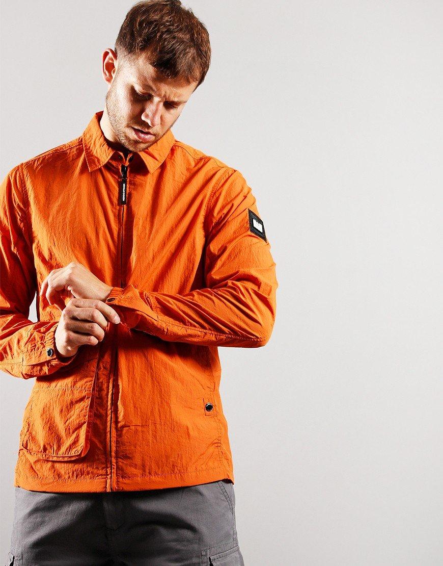 Weekend Offender Kruger Overshirt Orange