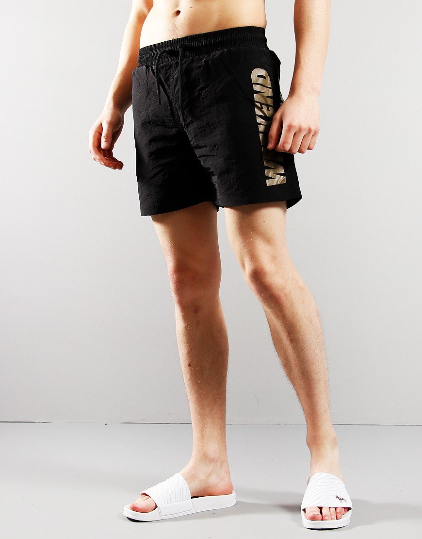Weekend Offender Laguna Swim Shorts Black