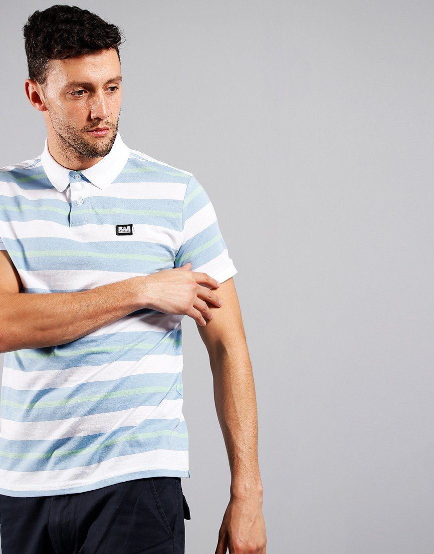 Weekend Offender Latow Polo Shirt White