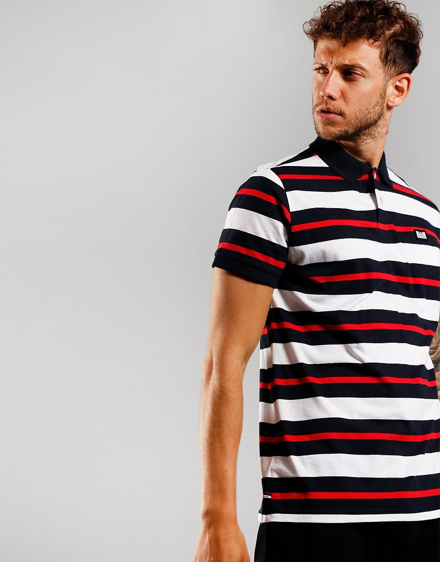 Weekend Offender Latow Polo Shirt Navy