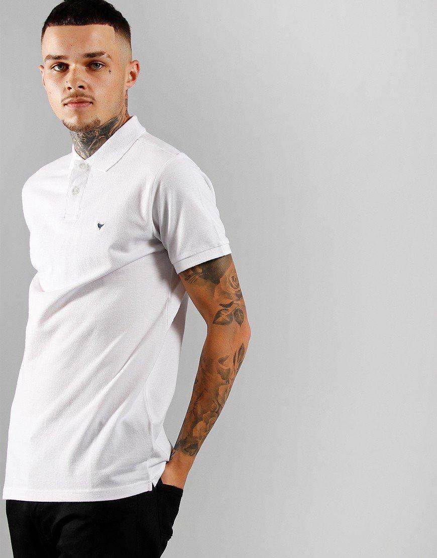 Weekend Offender Maldonaldo Polo Shirt White