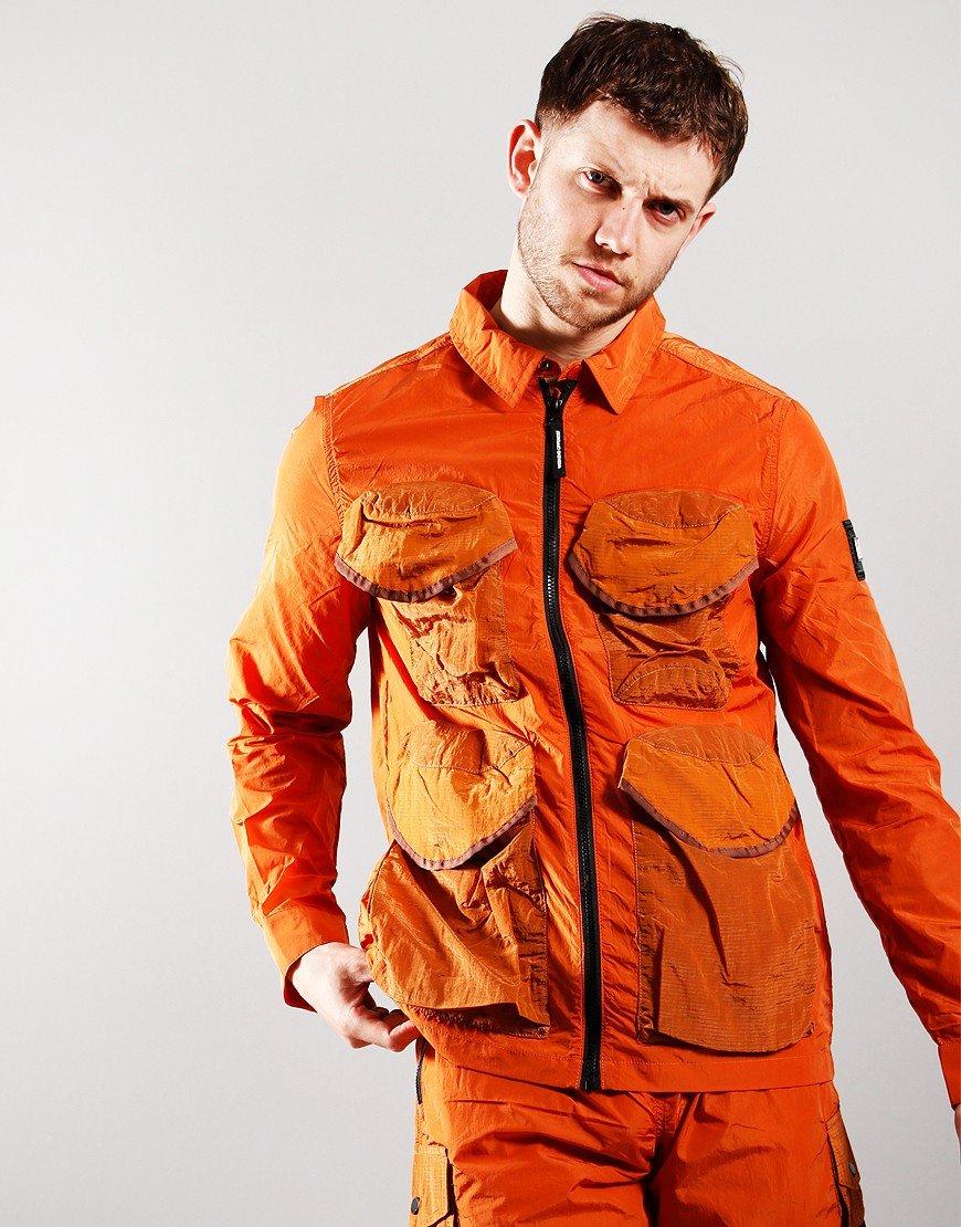 Weekend Offender Matira Overshirt Marmalade