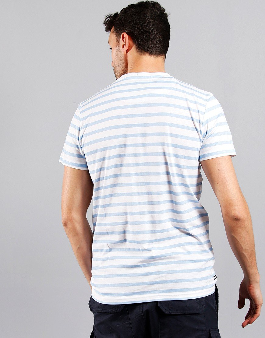 Weekend Offender Narcissis T-Shirt Blue Sky