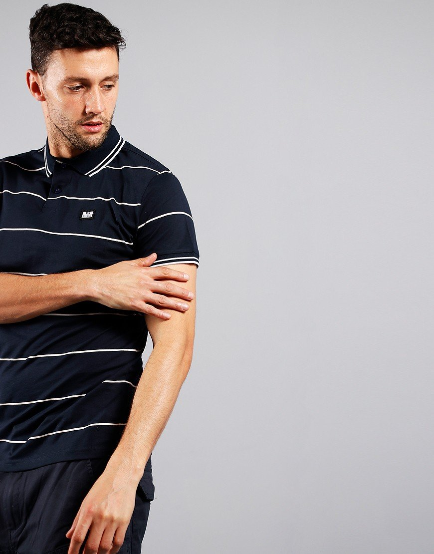 Weekend Offender Nelson Polo Shirt Navy