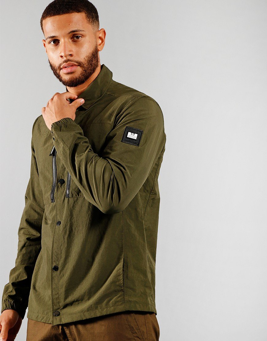 Weekend Offender Nicky Eyes Jacket Deep Forest
