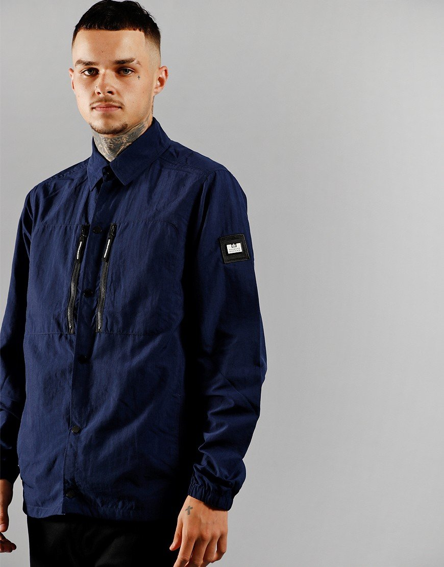 Weekend Offender Nicky Eyes Jacket Navy