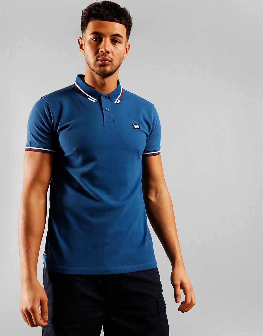 Weekend Offender Peaky Polo Shirt Yale