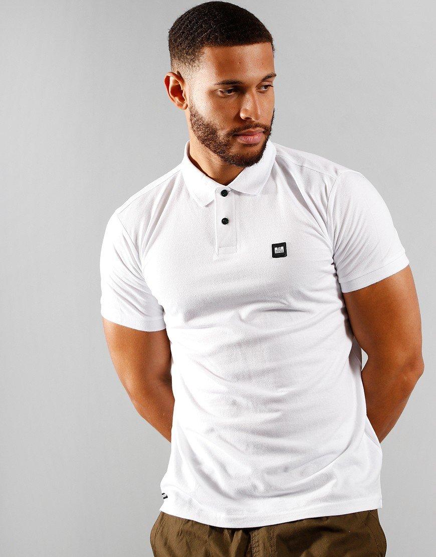 Weekend Offender Oruro Polo Shirt White