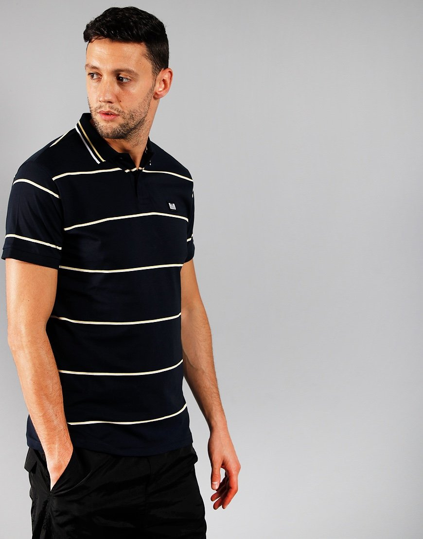 Weekend Offender Pittsburgh Polo Shirt Navy