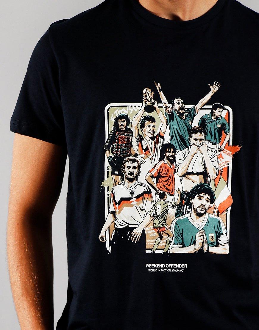 Weekend Offender Players T-Shirt Navy