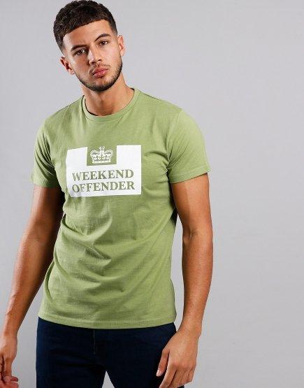 Weekend Offender Prison T-Shirt Nettle