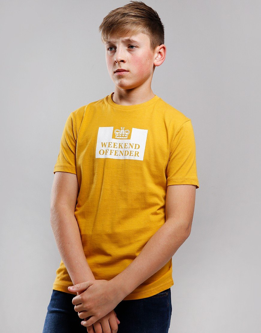 Weekend Offender Kids Prison T-Shirt Manuka