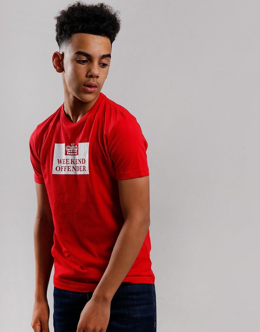 Weekend Offender Kids Prison T-Shirt Ruby