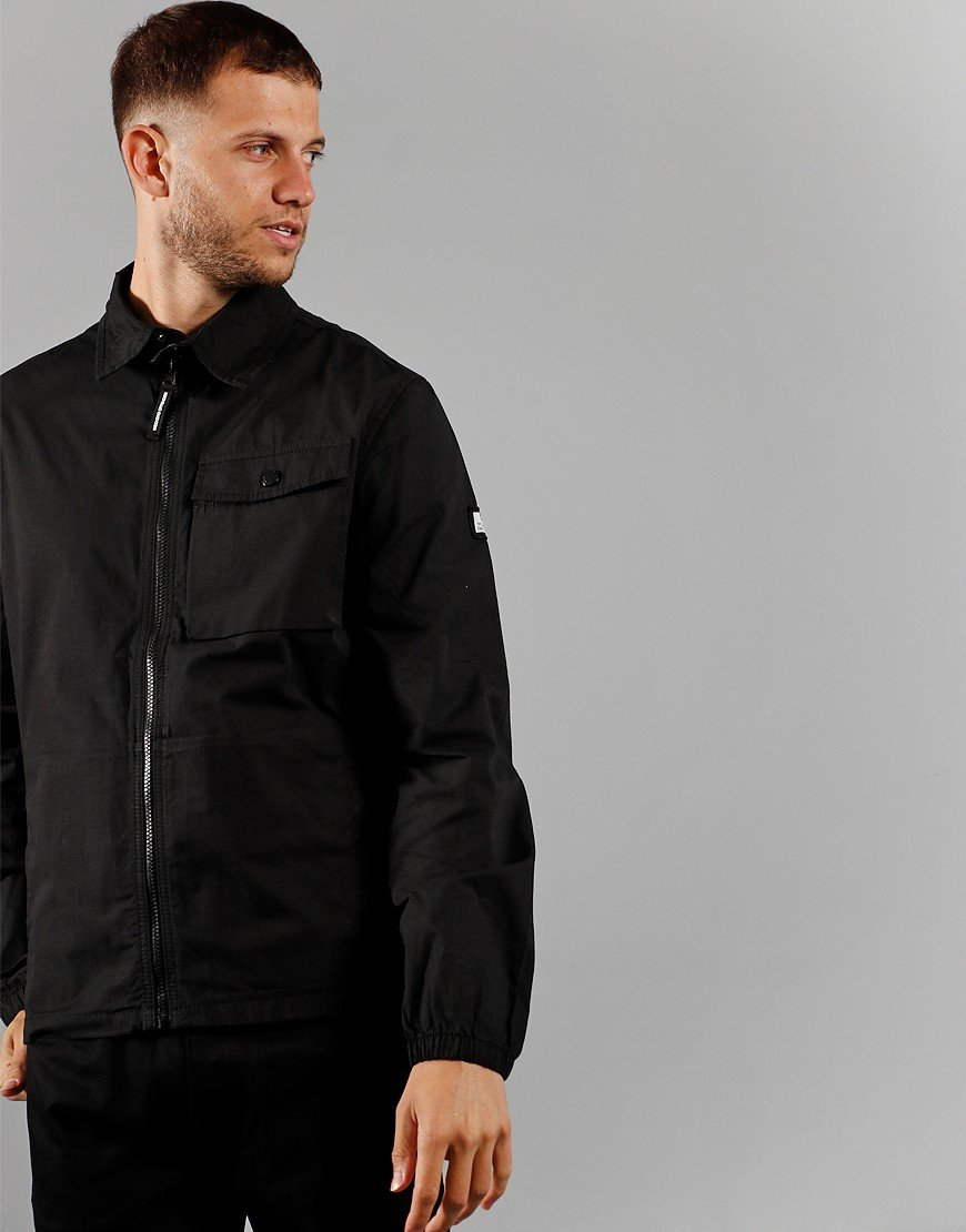 Weekend Offender Rhodium Overshirt Black