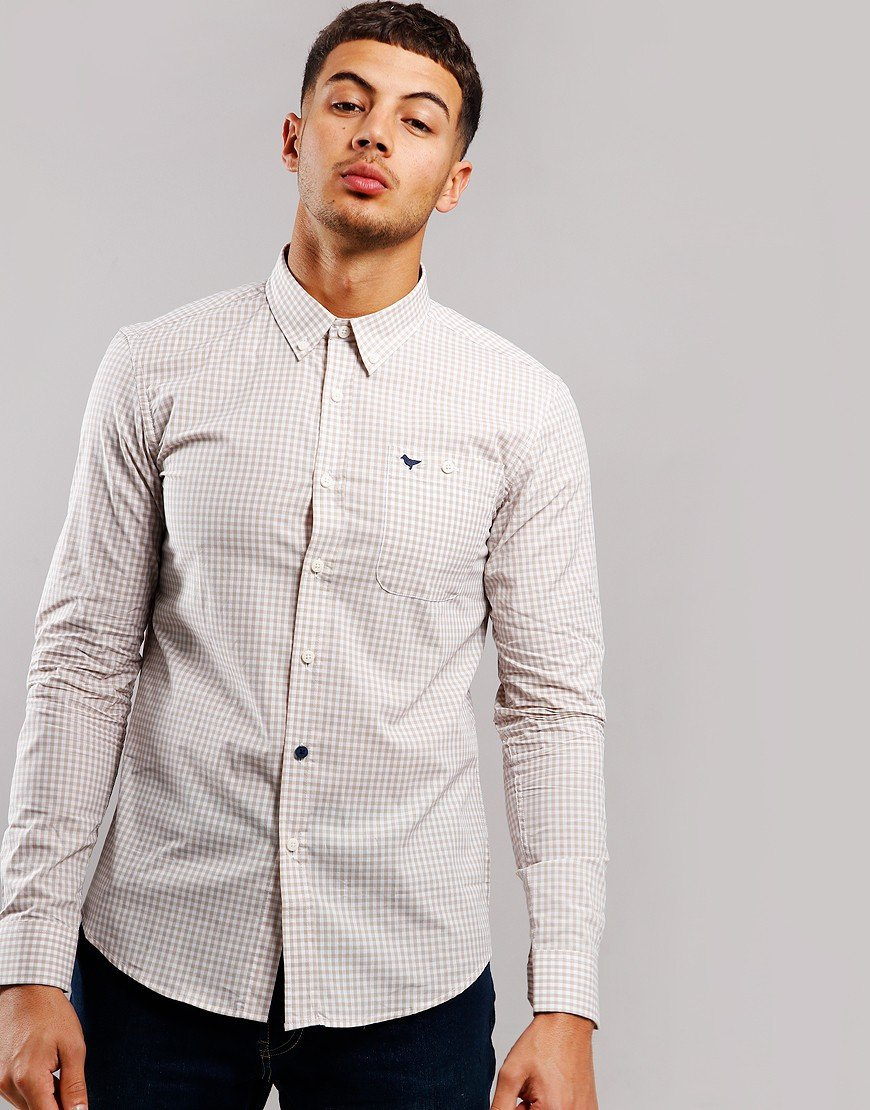 Weekend Offender Ricardo Shirt Stone
