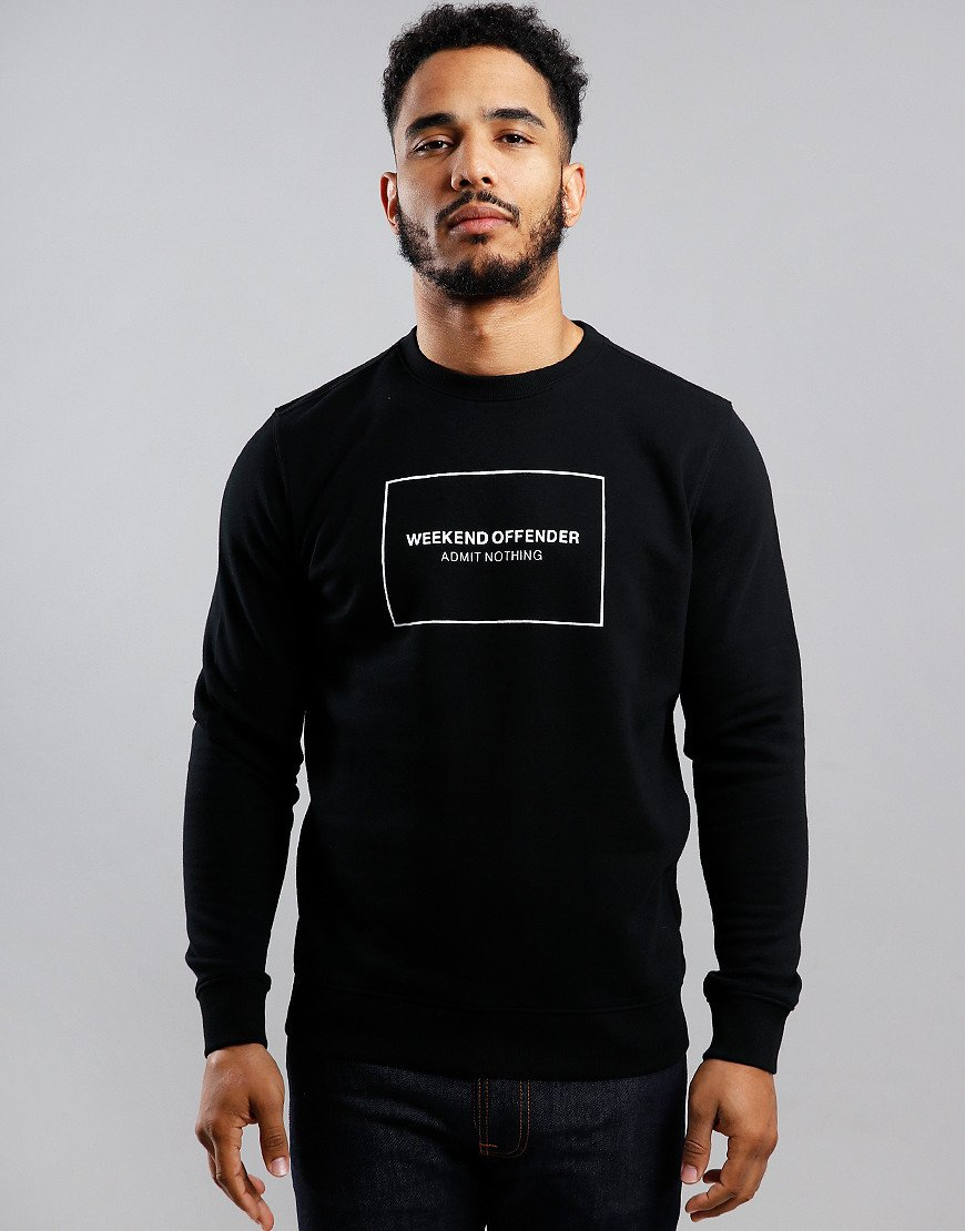 Weekend Offender Cerium Sweat Black