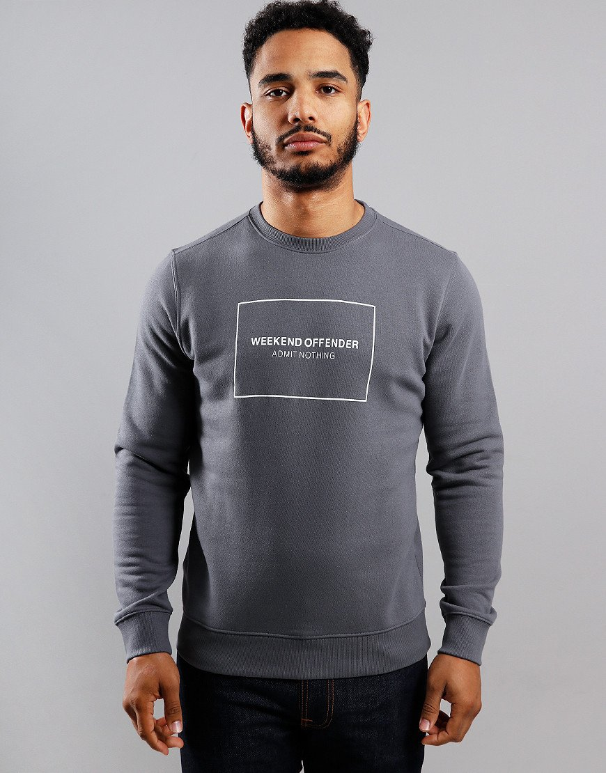 Weekend Offender Cerium Sweat Charcoal