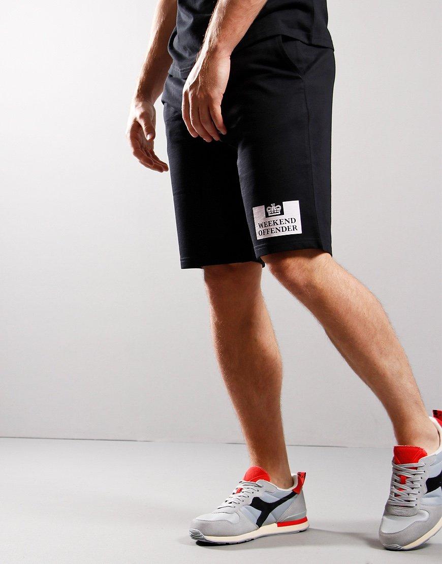 Weekend Offender Parma Sweat Short Black