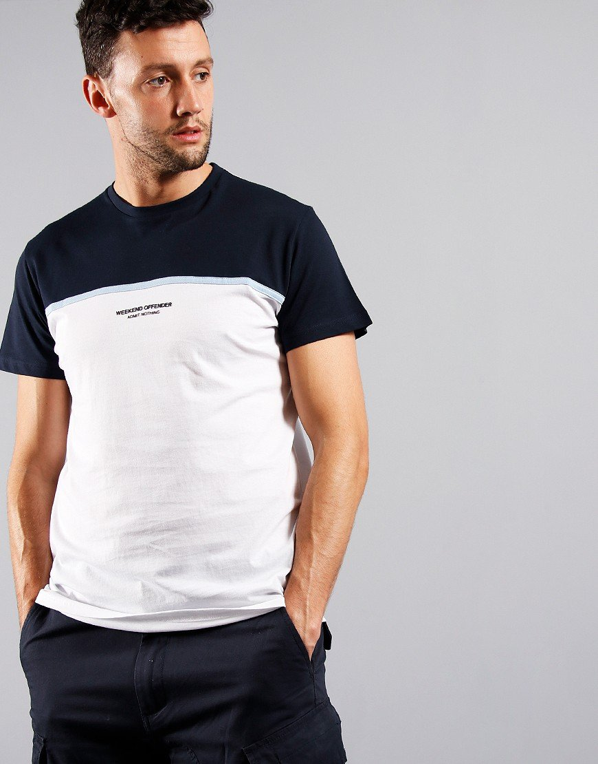 Weekend Offender Studio 54 T-Shirt White