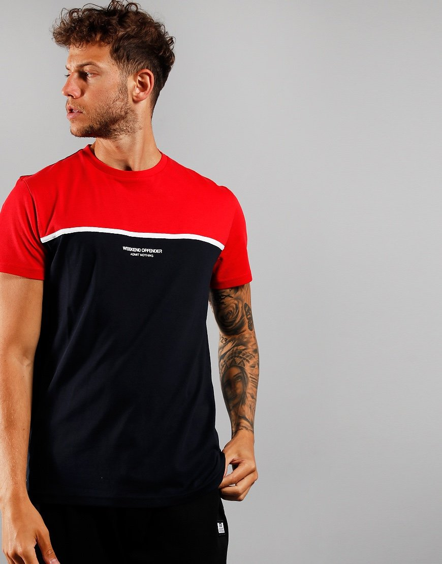 Weekend Offender Studio 54 T-shirt Navy