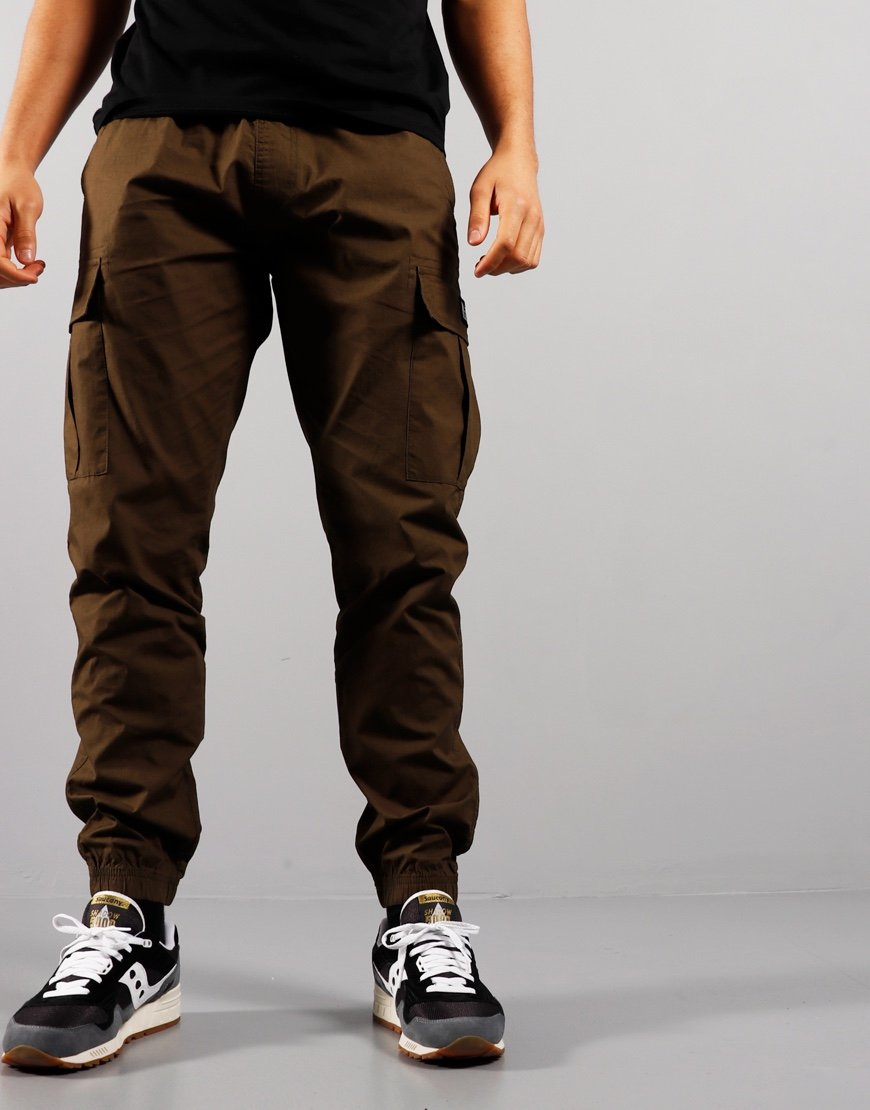 Weekend Offender Roma Cargo Pants Army