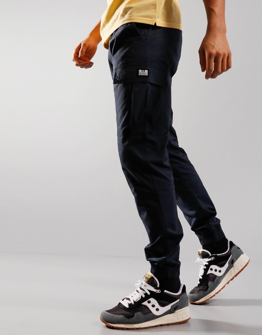 Weekend Offender Roma Cargo Pants Navy