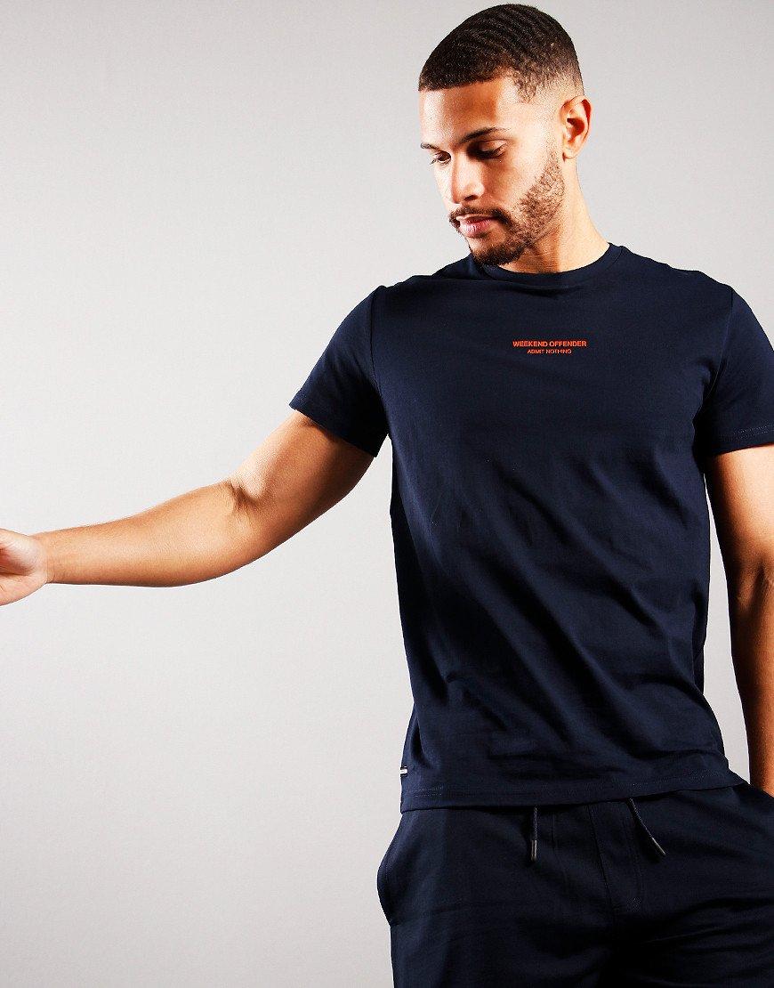 Weekend Offender WOAN T-Shirt Navy