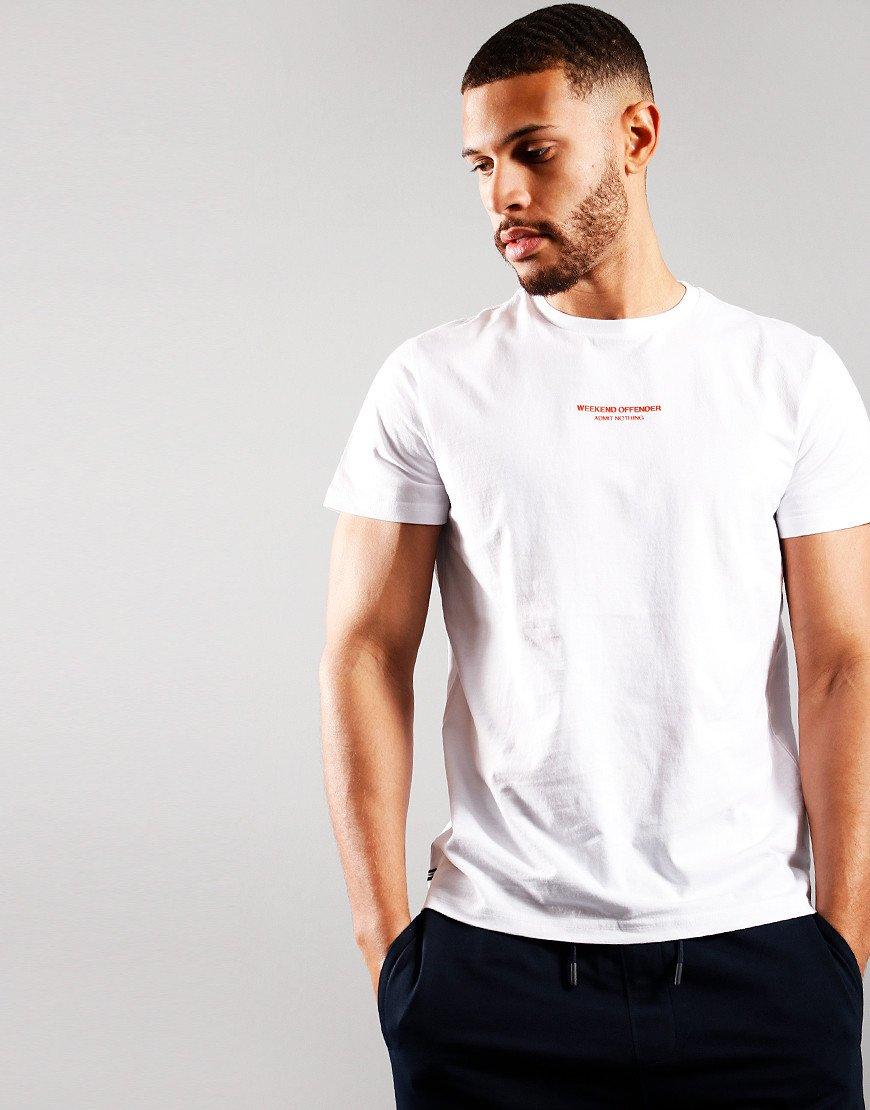 Weekend Offender WOAN T-Shirt White