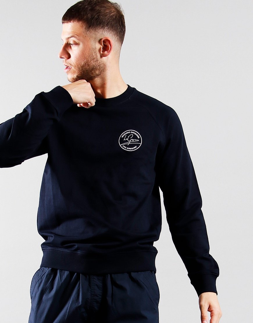 Weekend Offender x Leo Gregory LG Sweat Navy
