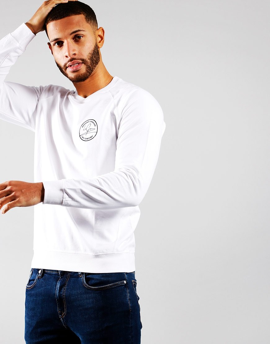 Weekend Offender x Leo Gregory LG Sweat White