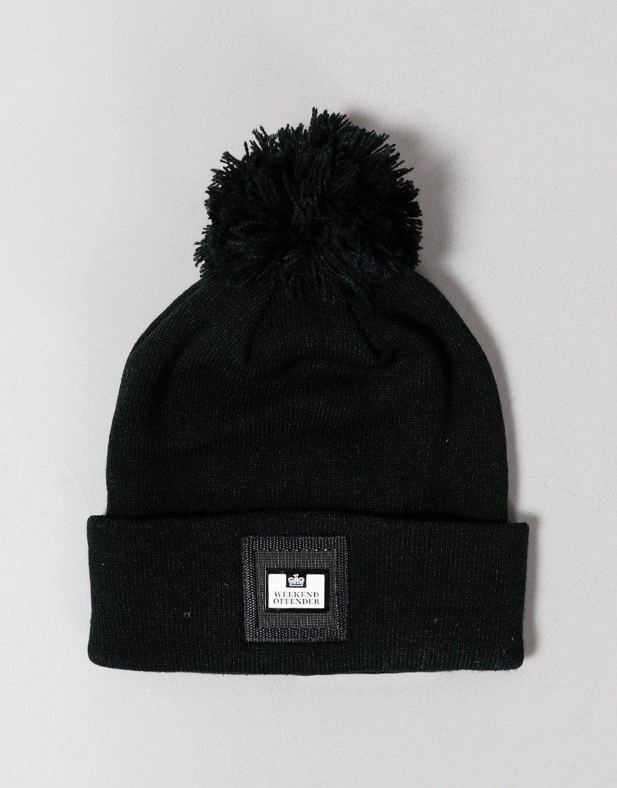 Weekend Offender Zambada Bobble Hat Black