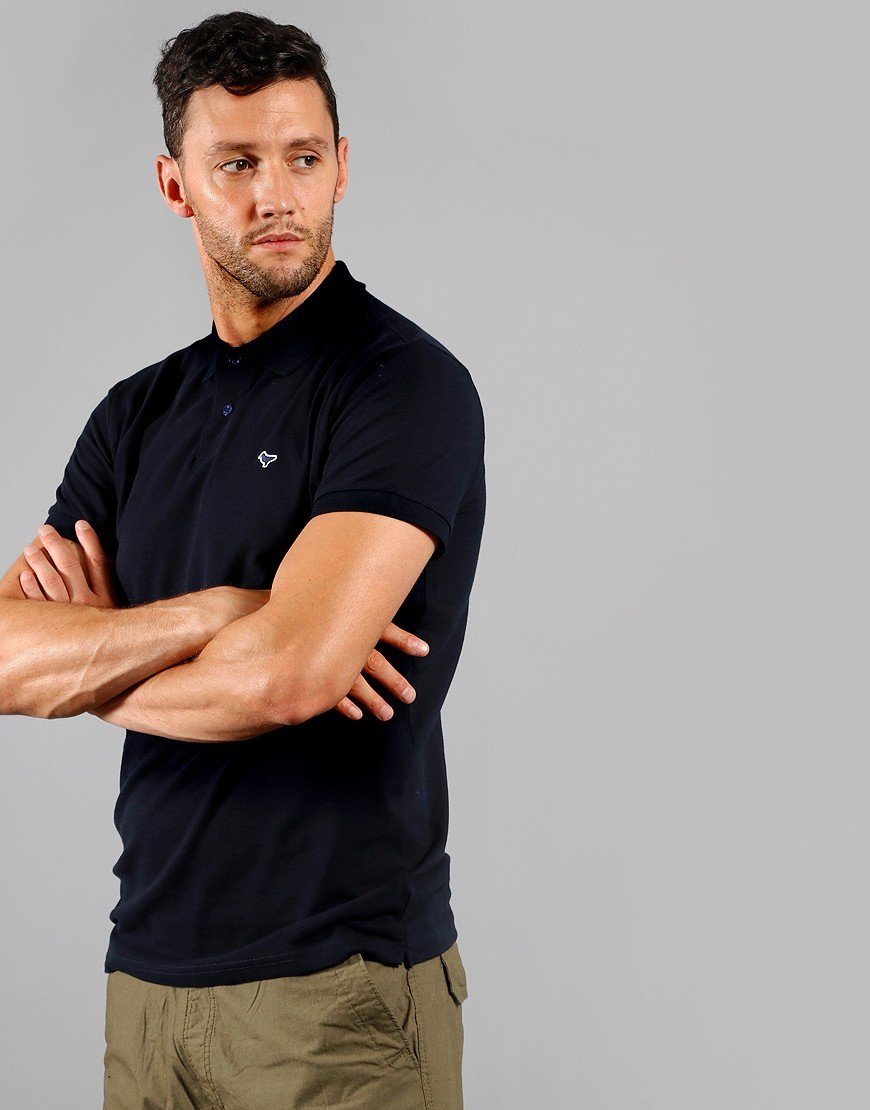 Weekend Offender Maldonaldo Polo Shirt Navy
