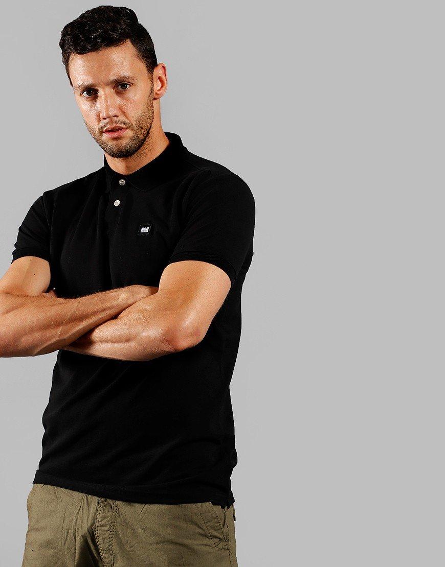 Weekend Offender Oruro Polo Shirt Black