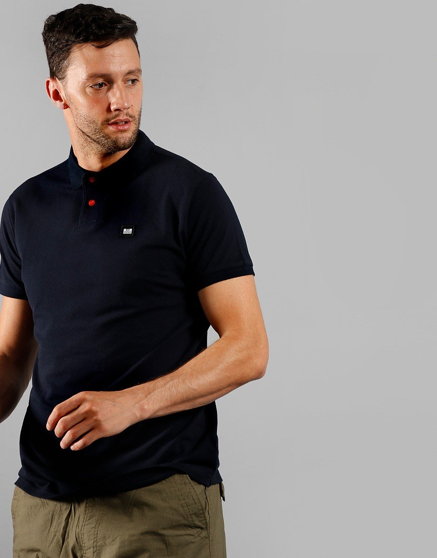 Weekend Offender Oruro Polo Shirt Navy