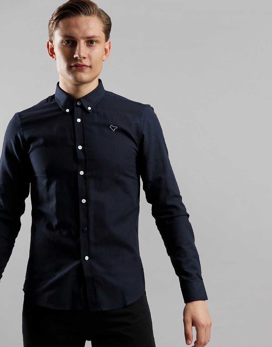 Weekend Offender Carlo Shirt Navy
