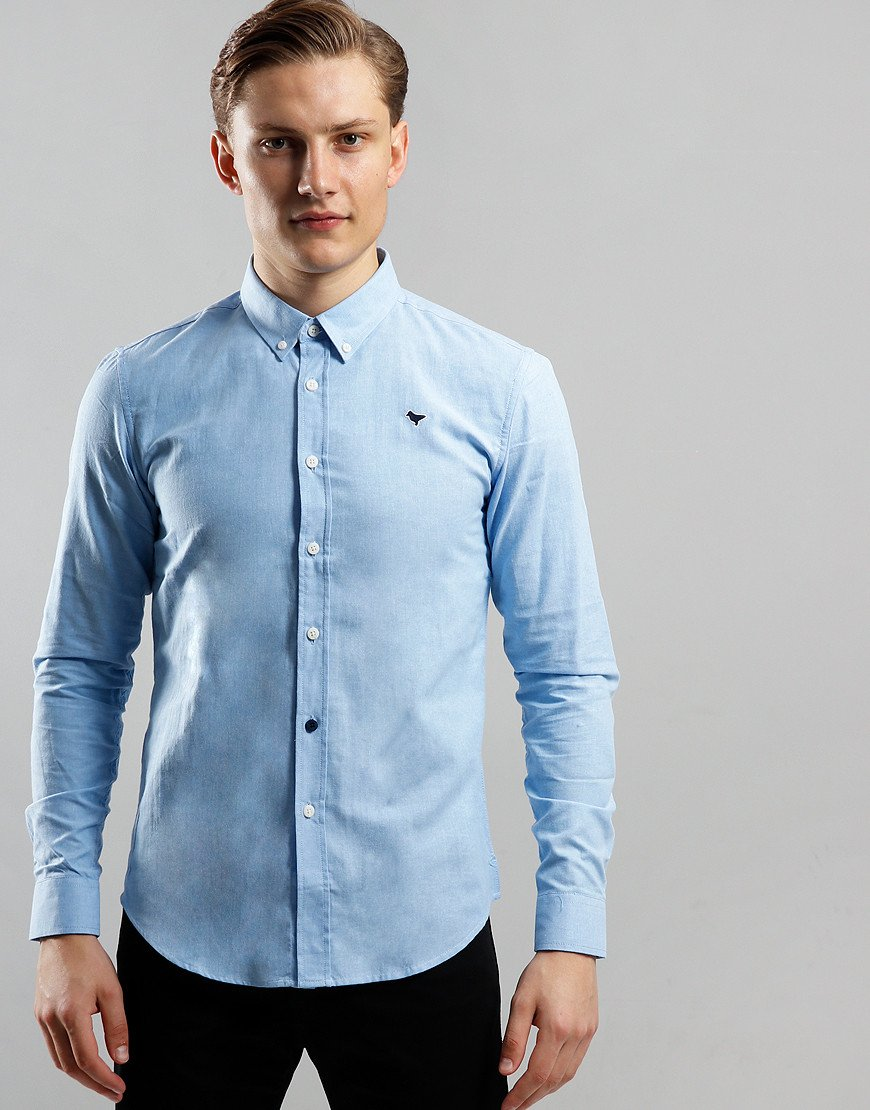 Weekend Offender Carlo Shirt Pale Blue