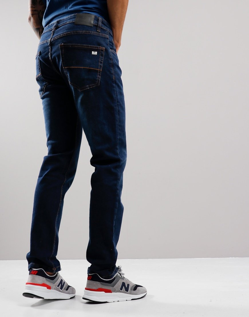 Weekend Offender Tapered Dark Vintage Wash Jeans