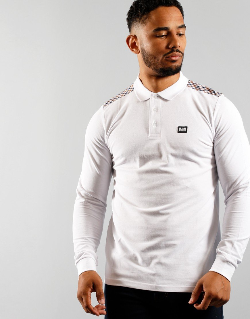 Weekend Offender Bismuth Polo Shirt White