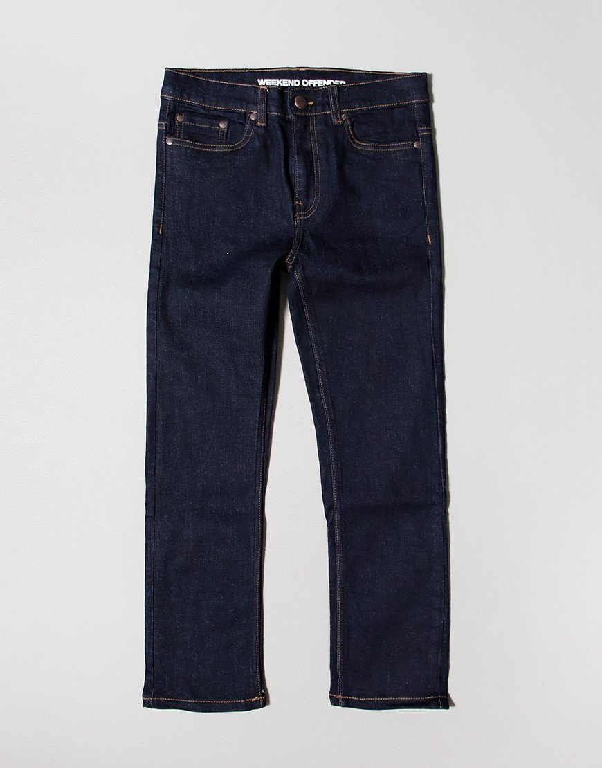 Weekend Offender Easy Fit Jeans Denim Rinsed